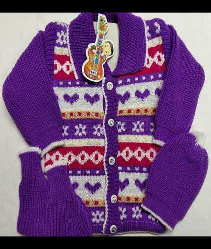 Kids Woolen Knitted Suit Age Group: 0-6