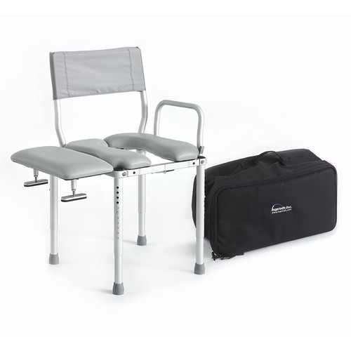 Multi Chair Travel Shower Commode Seat With Swing Away  Design: Board