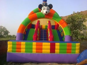 Designer Inflatable Bouncy Toys