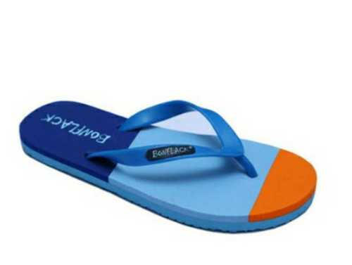 Multi (As Shown In Image) Comfortable Mens Pvc Slippers