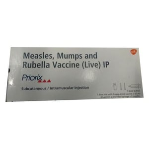 Measles Mumps And Rubella Vaccine (Live) IP