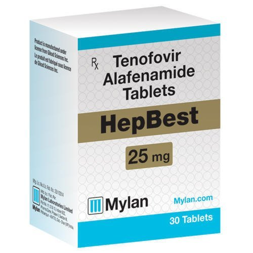 Tenofovir Alafenamide Tablets 25MG