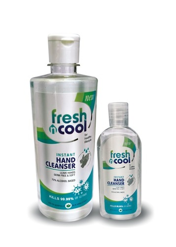 Fresh And Cool Hand Sanitizer Gel