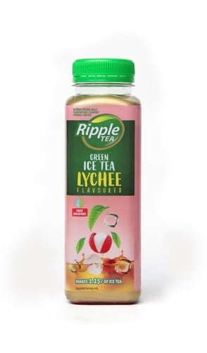 Ripple Lychee Flavour Liquid Concentrate Green Ice Tea