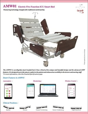 AMW01 - Smart ICU Bed (Five Function)