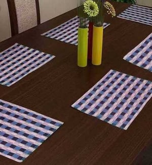 Dining Table Set of 6 Heat Insulation Place Mats