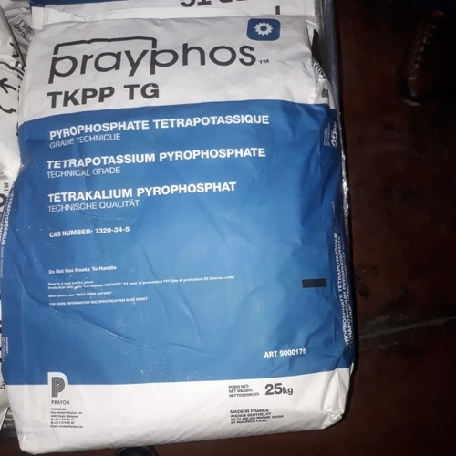 Tetra Potassium Pyro Phosphate Certifications: Sgs