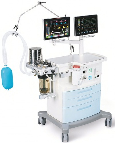 Anesthesia Machine With Double Touch Screen