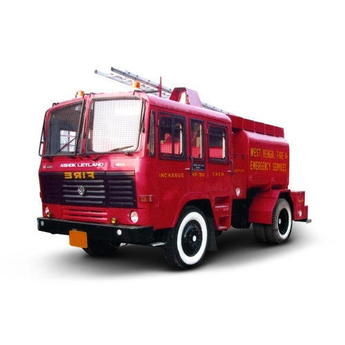 Painted Fire Vehicle Fabrication
