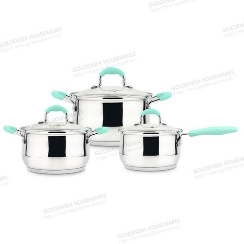 Stainless Steel Cookware Set 6 Pcs