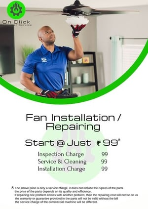 Fan Installation And Repairing Service