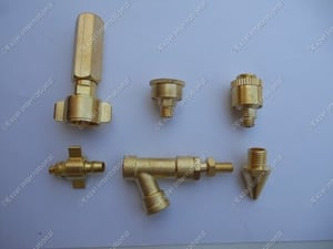 Long Life Brass Agriculture Parts