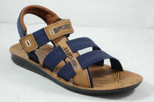Tan Washable Pvc Mens Sandal