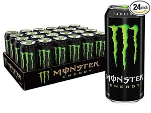 Branded Carbonated Energy Drink