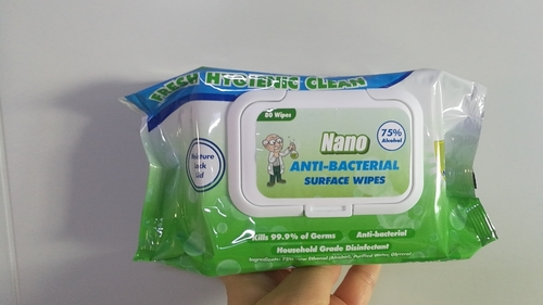 Portable Alcohol Wet Wipes