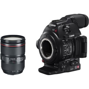 EOS C100 Mark II With Dual Pixel CMOS AF And EF 24 105mm f 4L IS II USM Zoom Lens Kit (Canon)