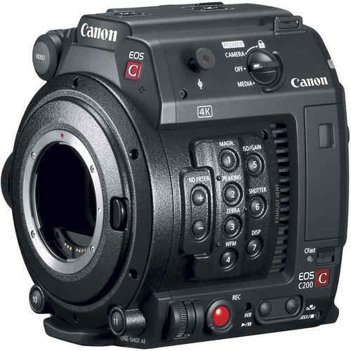EOS C200B Cinema Camera Body Only EF Mount (Canon)
