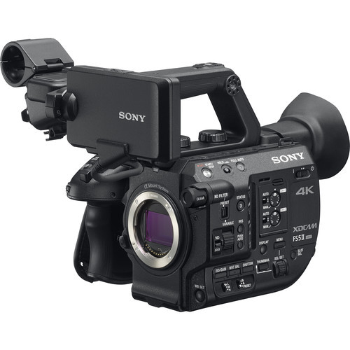 PXW FS5M2 4K XDCAM Super 35 mm Compact Camcorder