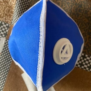 Face Mask With Exhalation Vent Valve