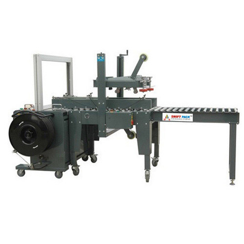 Electrical Automatic Strapping Carton Sealer