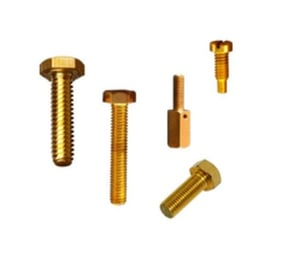 Galvanized Brass Nuts and Bolts