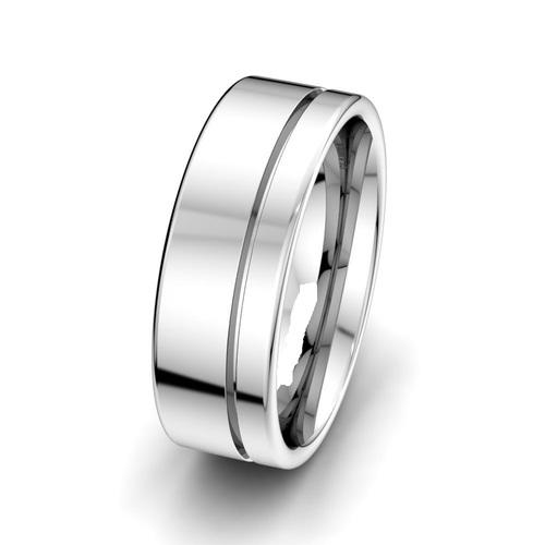 Men Attractive Silver Ring