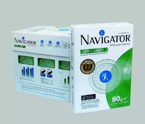 White Navigator Copy Paper A4