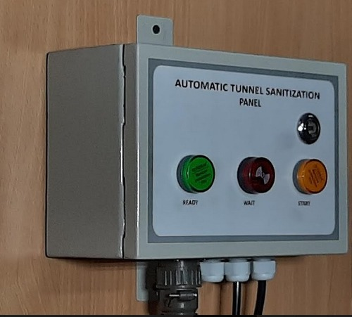 Covid Disinfectant Mist Tunnel Panel With Wall Mount Pir Sensor