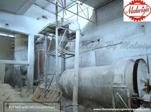 Optimum Performance Ball Mill with Micronized Plant