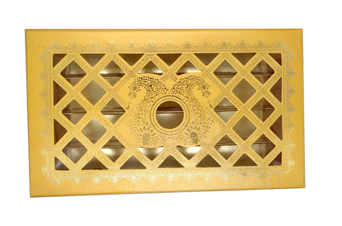 Rectangular Perfect Shape Sweet Box 1 Kg