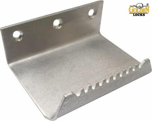 Stainless Steel Foot Operated Door Opener Size: 100 x 76 x 38 mm