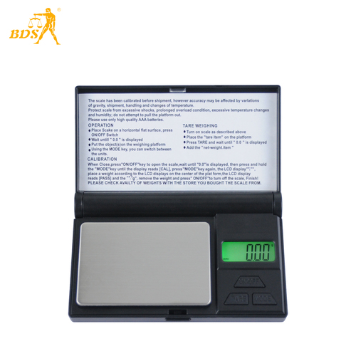 BDS FS Mini Weighing Jewelry Scales