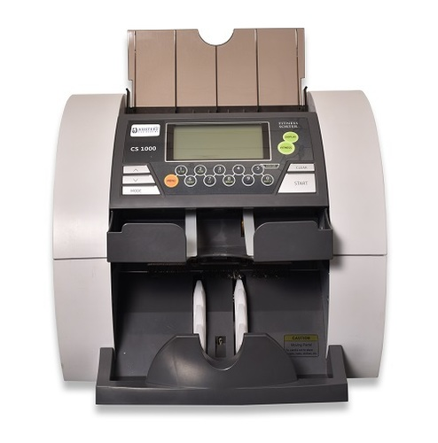 Cs1000 - 1+1 Note Fitness Sorting And Authentication Machine Weight: 16 Approx.  Kilograms (Kg)