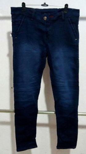Dark Blue Mens Stylish Jeans