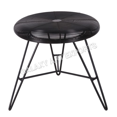 Elegant Look Coil Small Stool