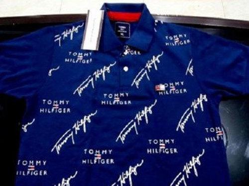 Mens Blue Matty Cotton T- Shirt