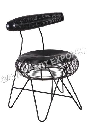Unique Design Coil Round Chair