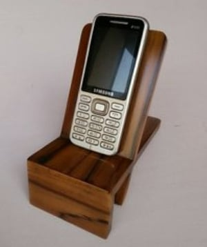 Wooden Mobile Phone Stand