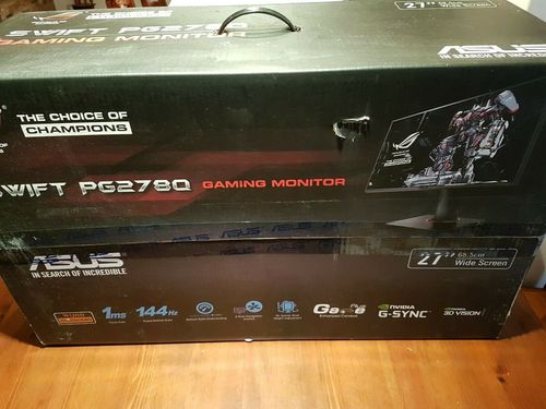 "ASUS ROG SWIFT PG278Q 27"" Gaming Monitor 144Hz"