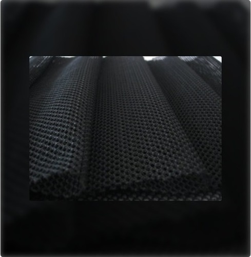 Black Polyester Mesh Fabric