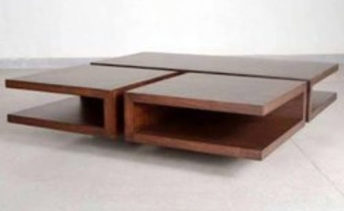 Brown Center Table