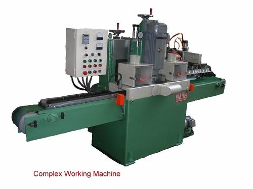 Complex Working Machine For Brake Pad