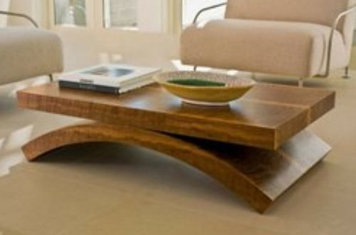 Curve Center Table