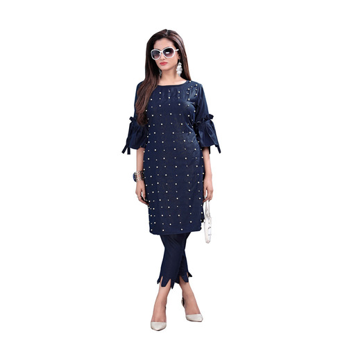 Georgette Kurti With Pant