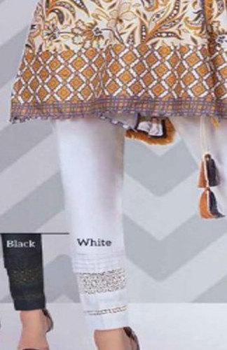 White, Black Ladies Elegant Lace Pant