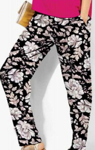 Ladies Printed Lounge Trousers