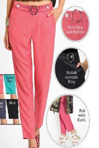 Ladies Rayon Ring Pant