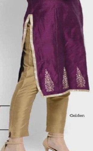 Golden Ladies Taffeta Silk Pant