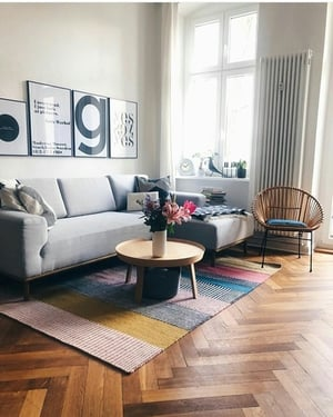Living Room Flooring Services