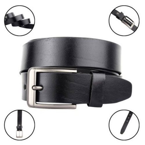 Mens FB BUFF Leather Belt